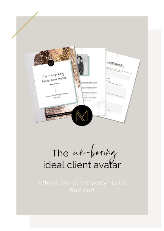 mel-daniels-unboring-ideal-client-avatar